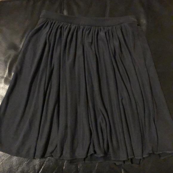 silence + noise Dresses & Skirts - Charcoal flowy skirt
